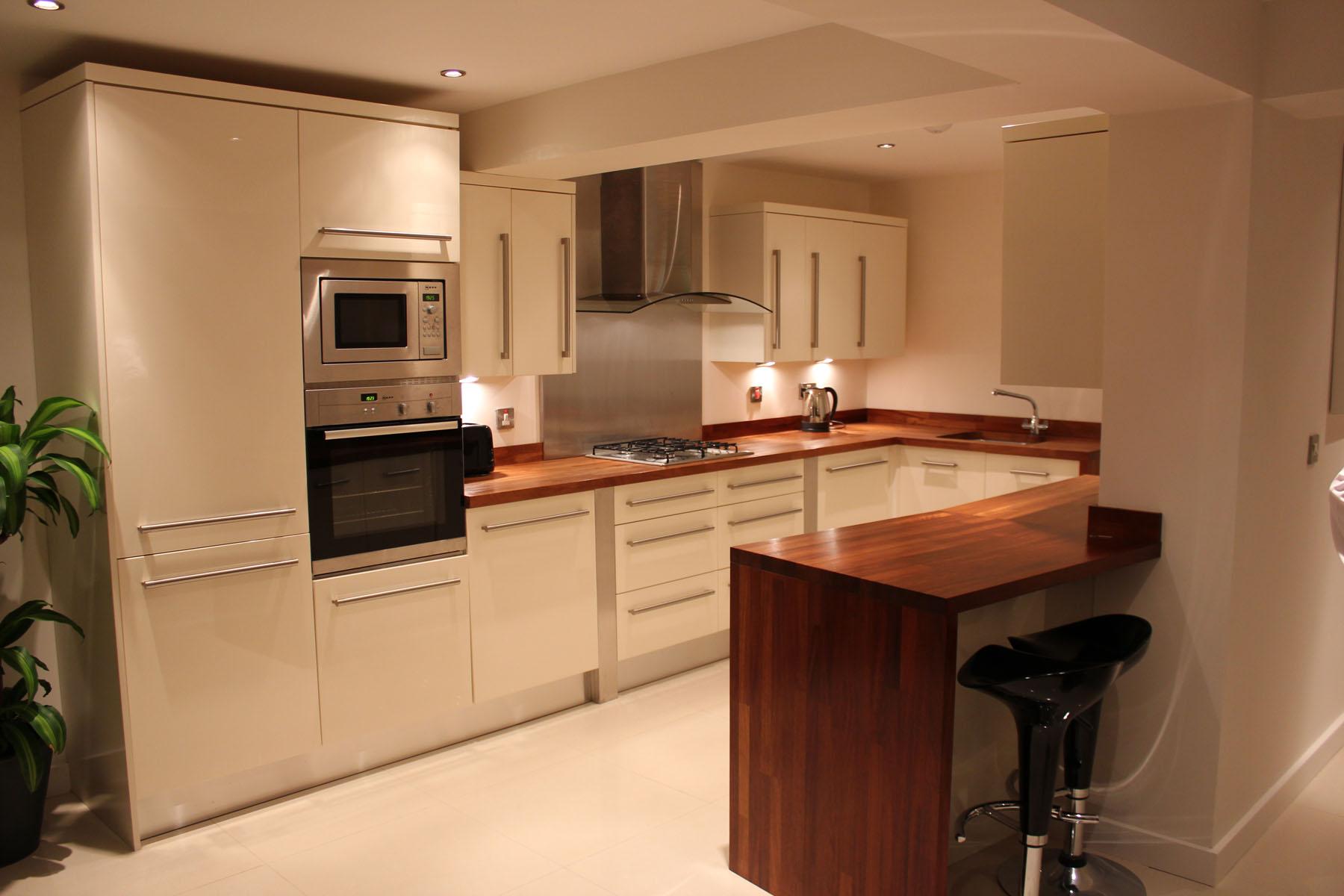 Matt Cream Kitchen