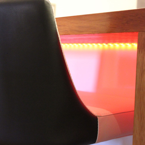 Red LED feature lights