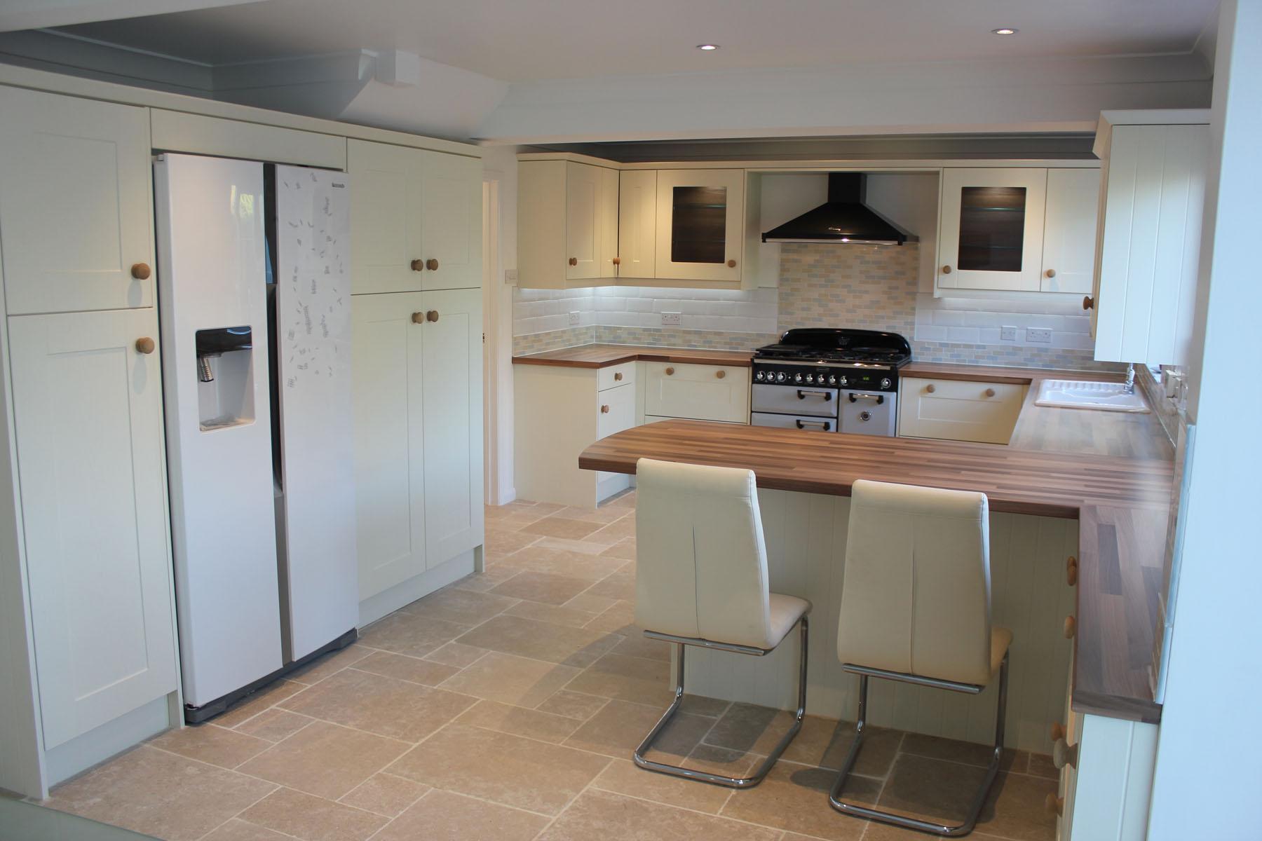 Painted Ivory Shaker Kitchen  Hallmark Kitchen Designs