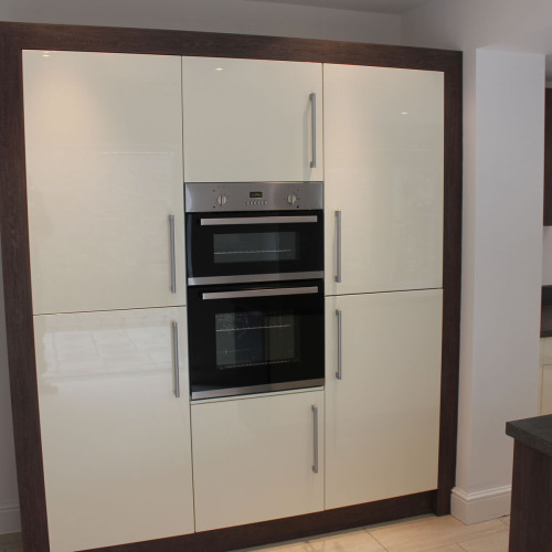 Gloss Ivory kitchen