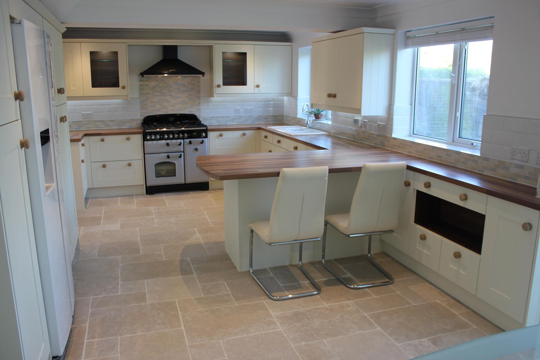 White Painted Shaker Kitchen Hallmark Kitchen Designs
