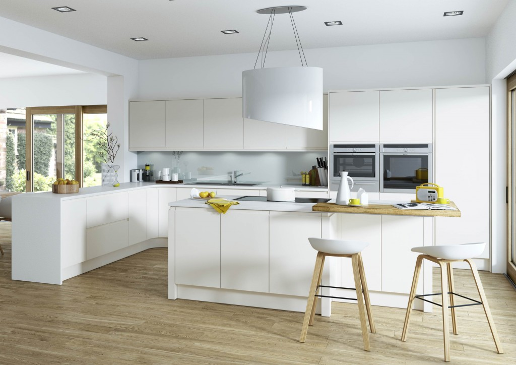 Handleless Kitchens Any Colour Irresistible Prices