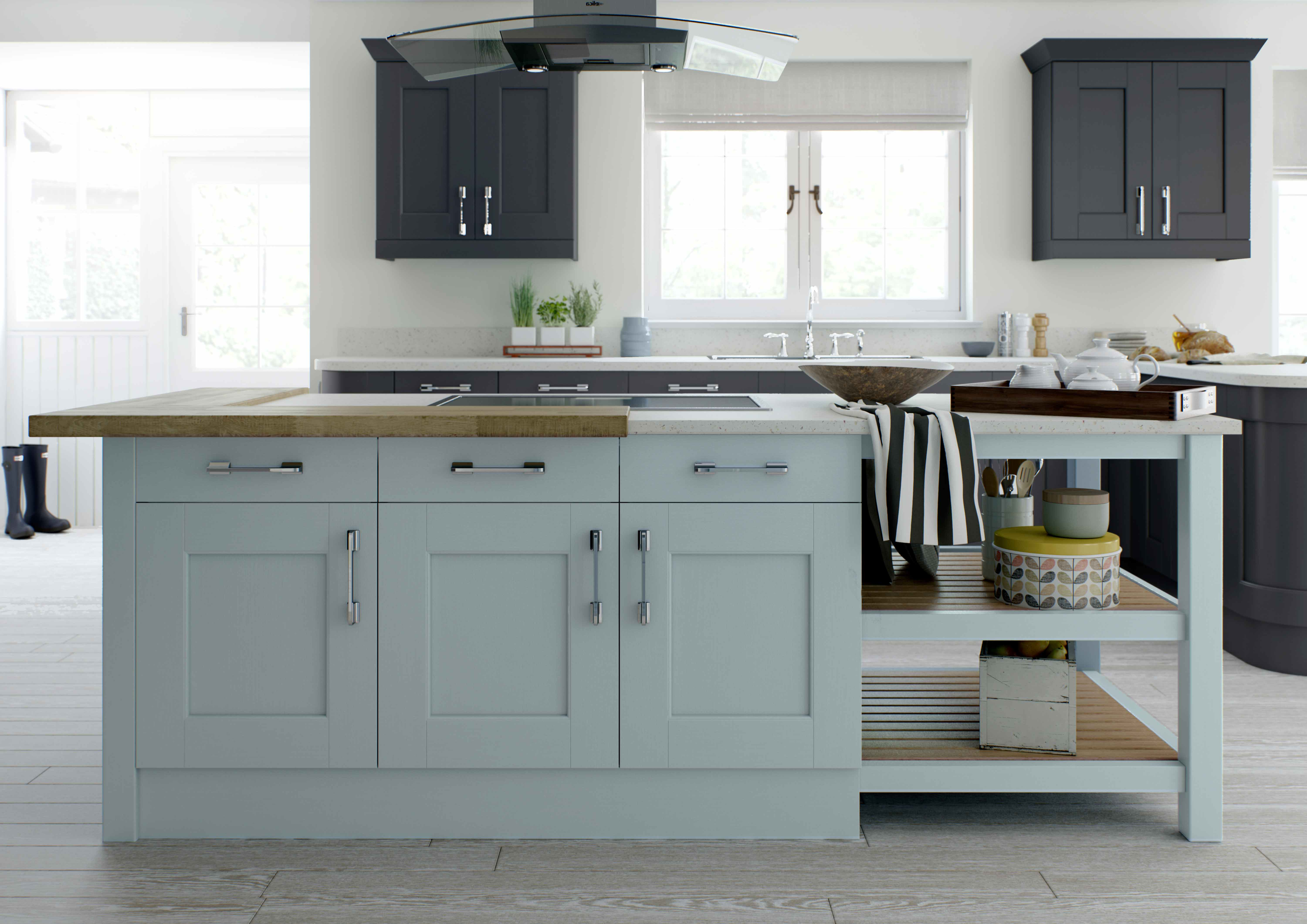 painted kitchens -