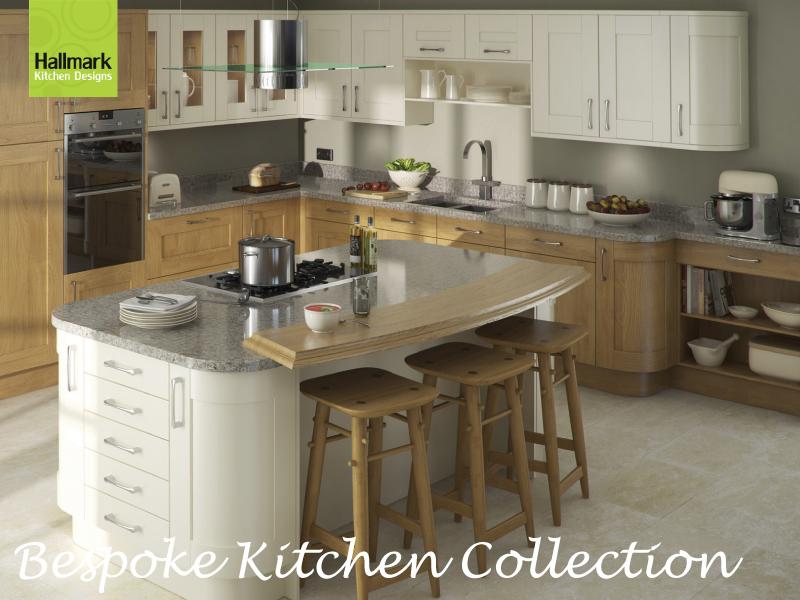 Bespoke kitchens by hallmark kitchen designs for Bespoke kitchen design