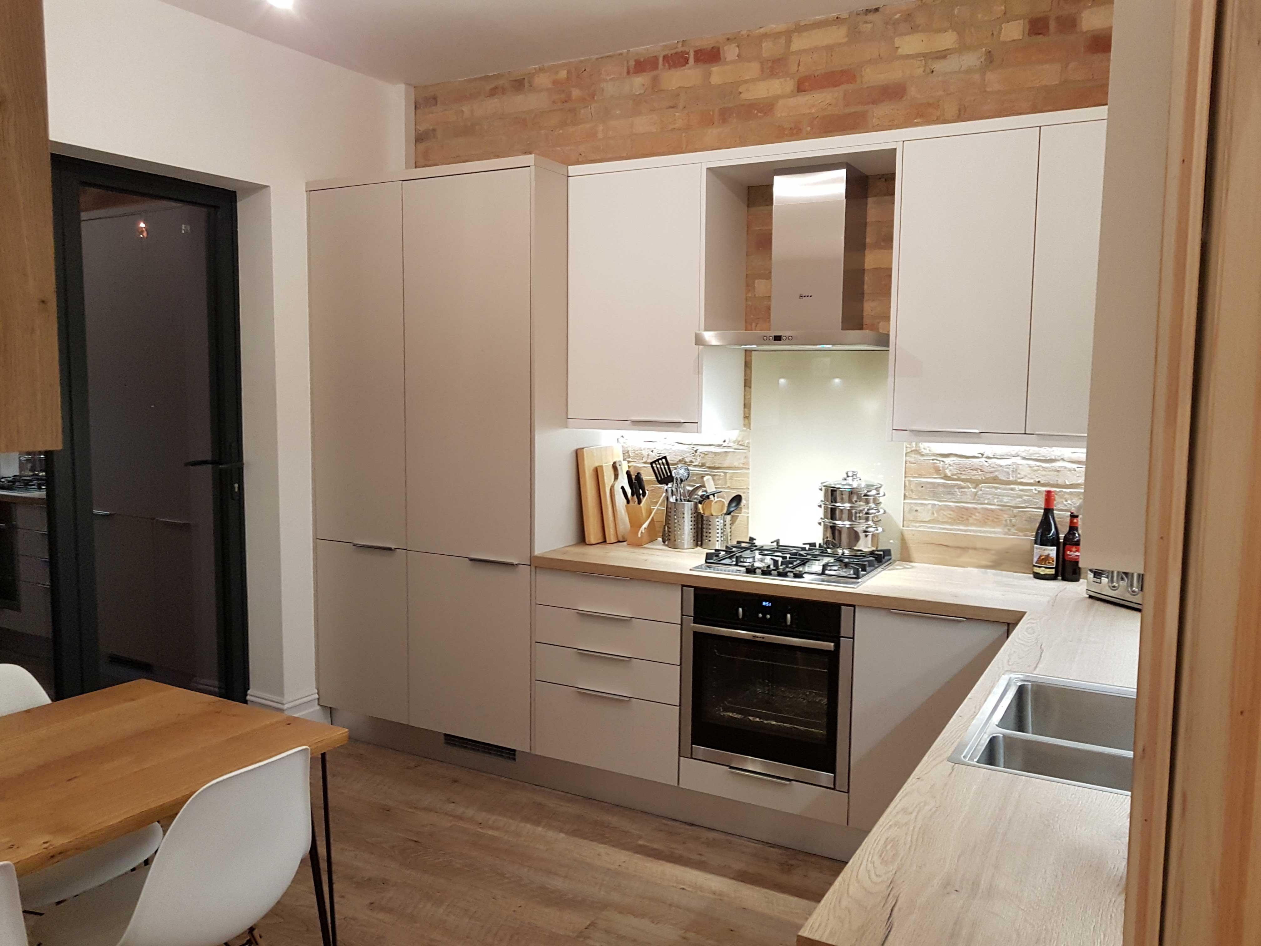 Supermatt Cashmere Kitchen Hallmark Kitchen Designs