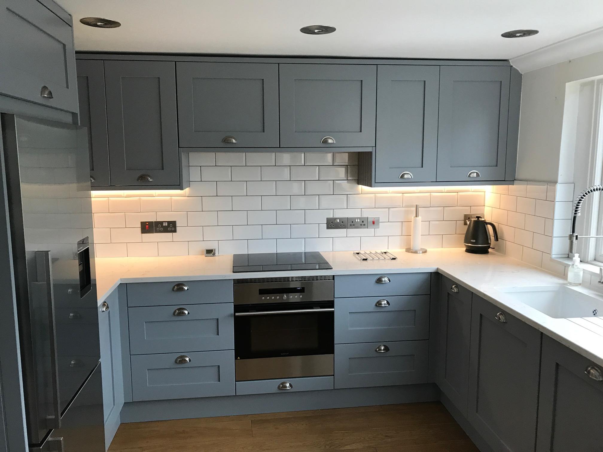 Luna grey shaker kitchen hallmark kitchen designs - Shaker kitchen designs photo gallery ...