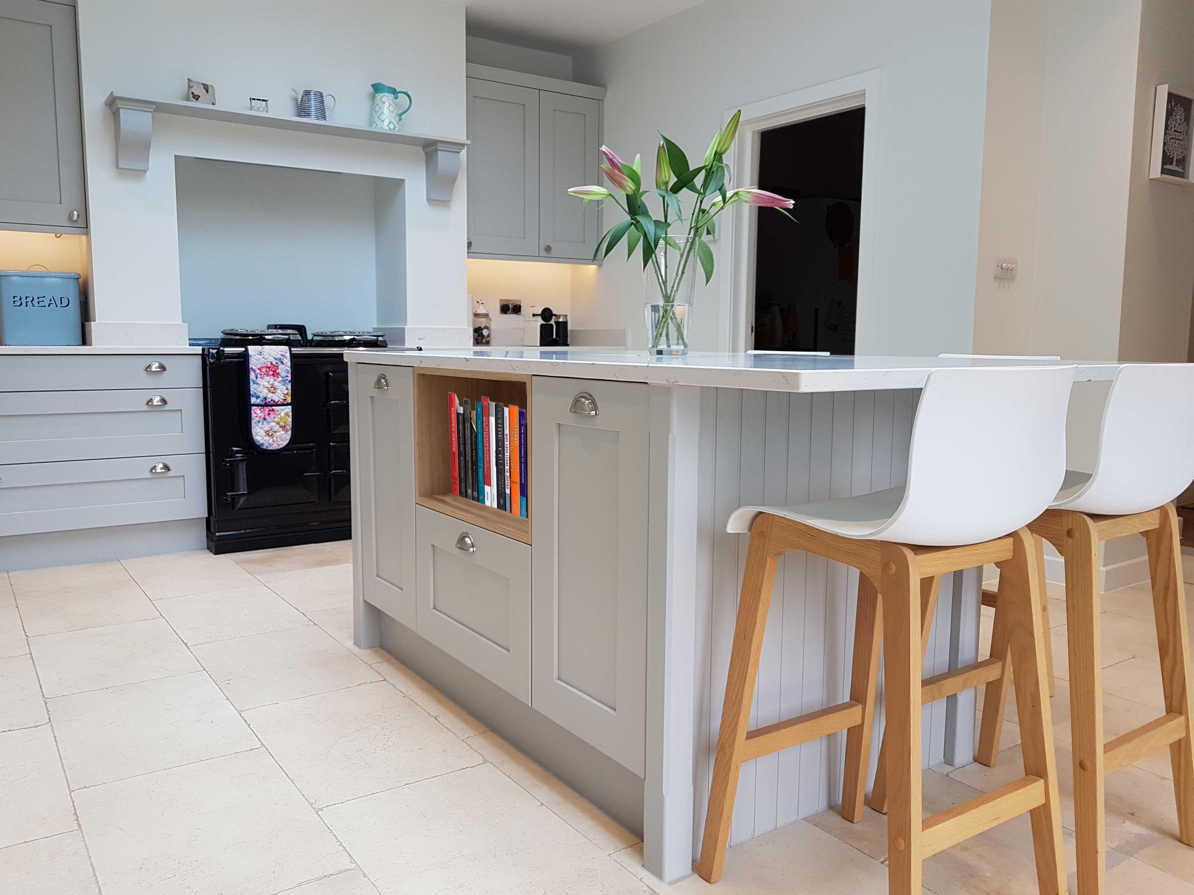 Light Grey Shaker - Hallmark Kitchen Designs