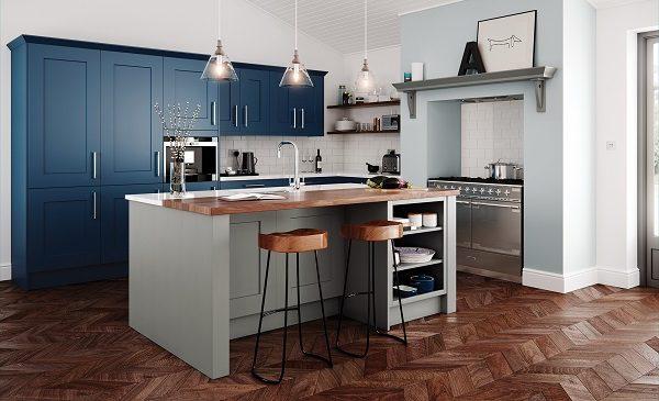 Hand Painted Kitchen Design Ideas ~ Hand painted shaker kitchens hallmark kitchen designs
